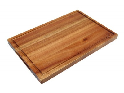 Genware Acacia Wood Serving Board 34...