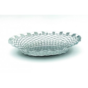"S/St.Oval Basket 9.1/2""X7"""