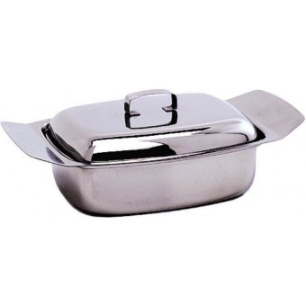 S/S Butter Dish & Lid 250G...