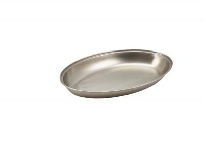 "S/St.Oval Veg Dish 14"""