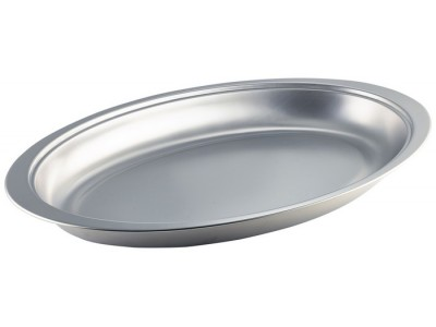 """S/St.Oval Banqueting Dish 20"""""""