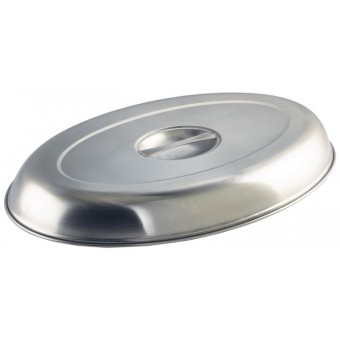 """Cover For Oval Veg Dish 12""""..."""