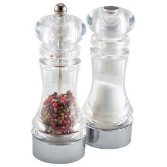 Acrylic Pepper Mill & Salt...