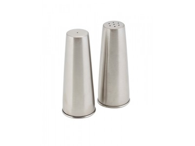 Conical Screw Base Condiment Set