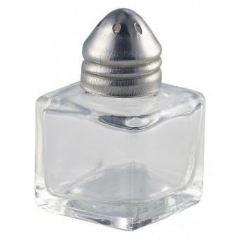 Individual Glass Pepper Pot...