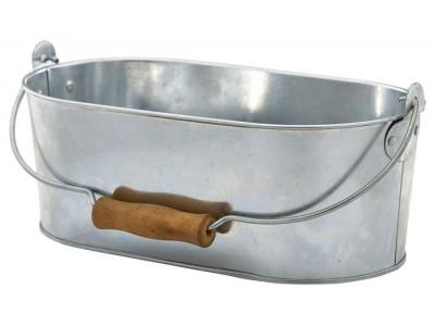 Galvanised Steel Oval Table Caddy...