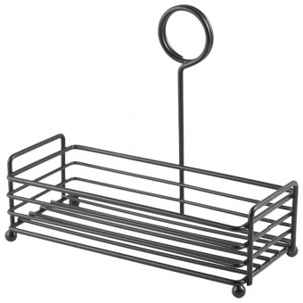 Black Wire Table Caddy 7.75...