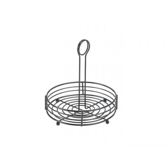 "Black Wire Table Caddy 8""..."