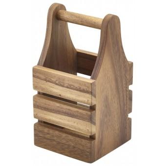 Acacia Wood Cutlery Holder...