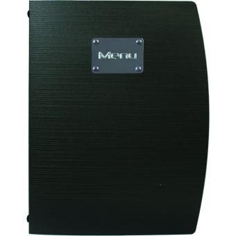 Rio A4 Menu Holder Black 4...