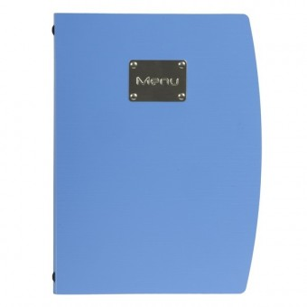 Rio A4 Menu Holder Blue 4...