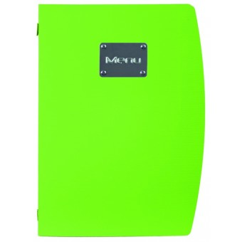 Rio A4 Menu Holder Green 4...