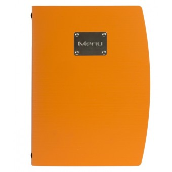 Rio A4 Menu Holder Orange 4...