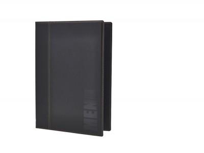 Contemporary A4 Menu Holder Black 4...