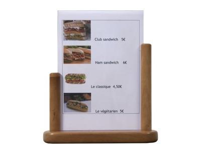 Table Board 21X30cm Large Teak PVC...