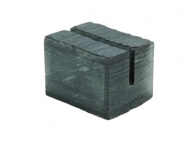 Genware Slate Cube Mini Sign Holder 3...