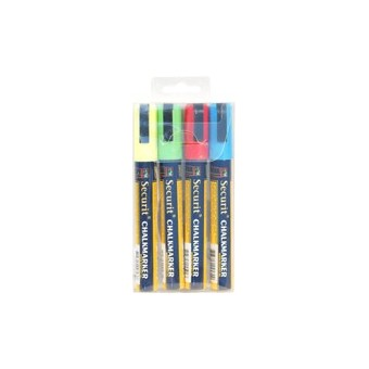 Chalkmarkers 4 Colour Pack...
