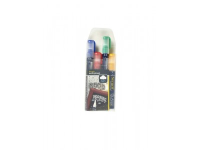 Waterproof Chalk Markers 4 Colour...