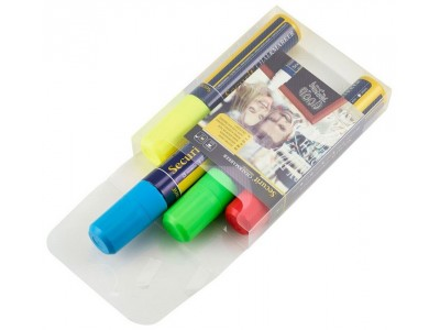 Chalkmarkers 4 Colour Pack (R,G,Y,BL)...
