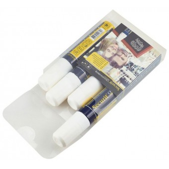Chalkmarkers 4 Pack White...