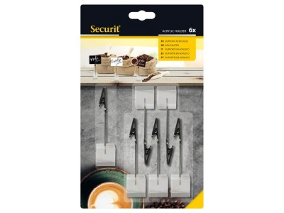 Acrylic Tag Holders (Set of 6pcs)