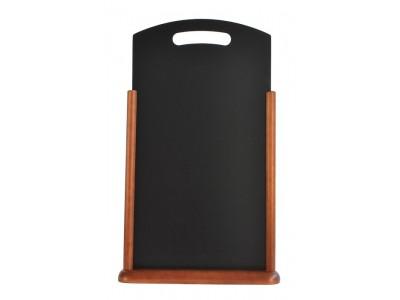 Large Table Chalk Board Dark Wood...