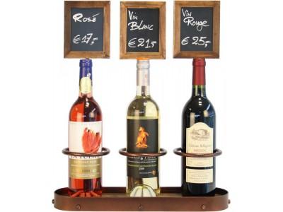 Wine Bottle x3 Chalk Board Display 45...