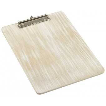 White Wash Wooden Menu...