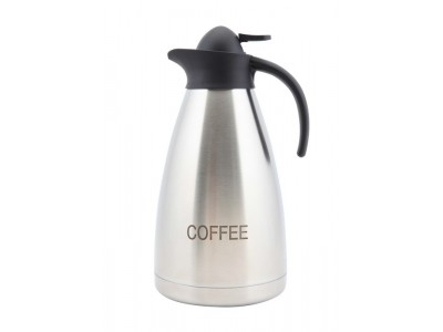 Coffee Inscribed St/St Contemporary...