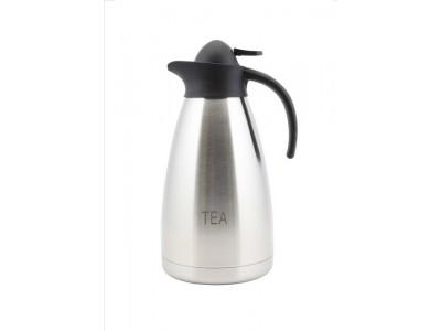Tea Inscribed St/St Contemporary Vac....