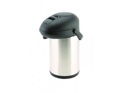 St/St Unbreakable Vacuum Pump Pot 3.0L
