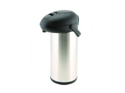 St/St Unbreakable Vacuum Pump Pot 5.0L