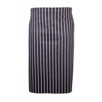 Navy Butchers Stripe Waist...