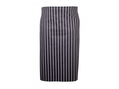 Navy Butchers Stripe Waist Apron 71cm...