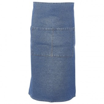 Unwashed Denim Waist Apron...