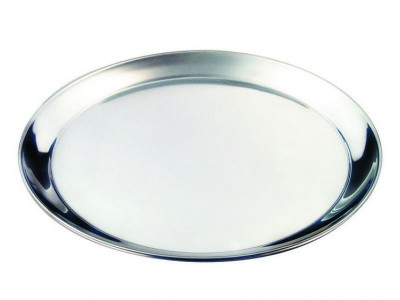 "S/St. 14"" Round Tray 350mm"