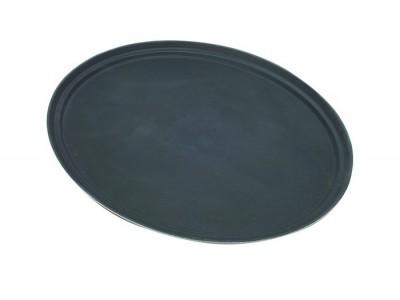 "Tray Gengrip Fibreglass Oval 31"" Black"