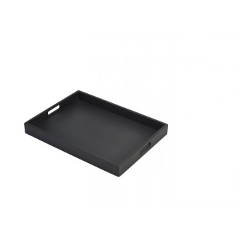 Solid Black Butlers Tray 44...