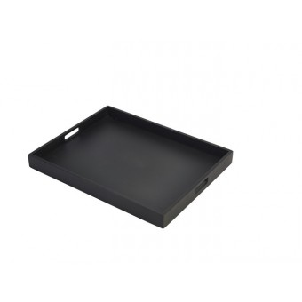 Solid Black Butlers Tray 49...
