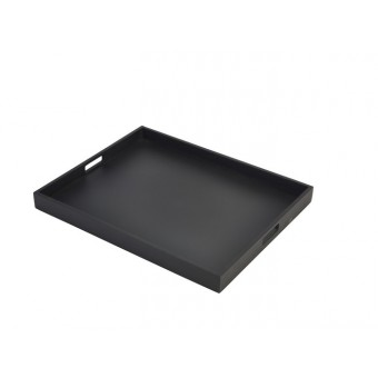 Solid Black Butlers Tray...