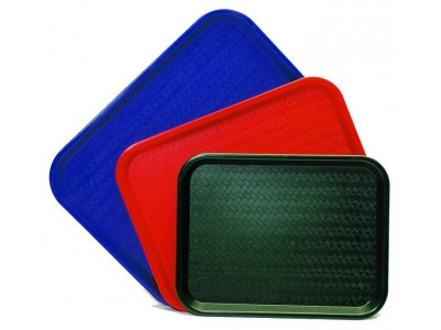 Fast Food Tray Blue Small