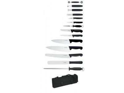 Giesser 14Pc Knife Set + Knife Case