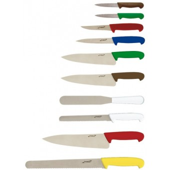 10 Piece Colour Coded Knife...