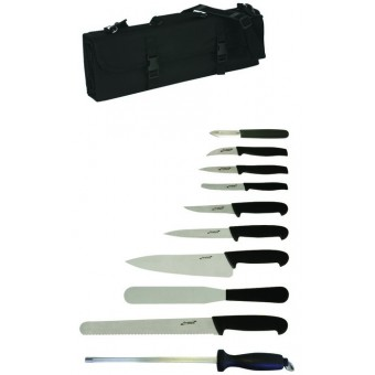 10 Piece Knife Set + Knife...