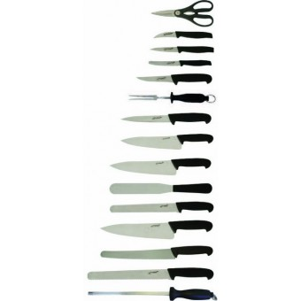 15 Piece Knife Set + Knife...