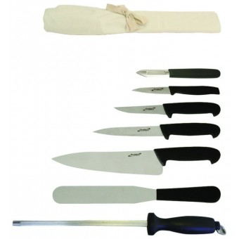 7 Piece Knife Set + Knife...