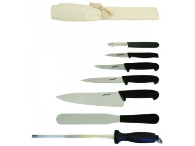 7 Piece Knife Set + Knife Wallet