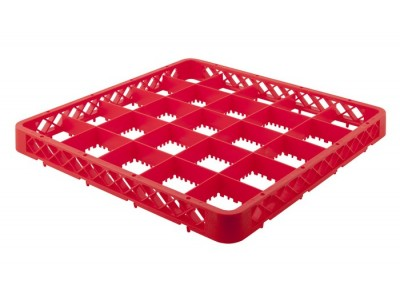 Genware 25 Compartment Extender Red