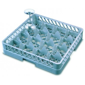 Genware 16 Comp Glass Rack...