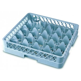 Genware 25 Comp Glass Rack...
